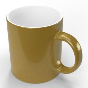 Чашка металлик